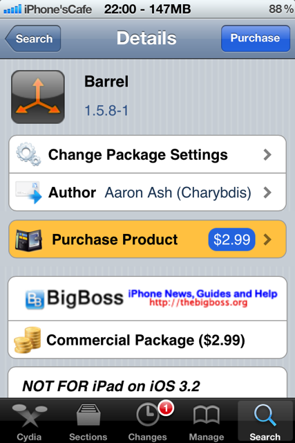 Cydia Barrel
