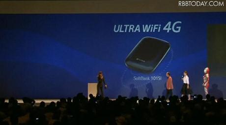 Softbank Ultra WiFi 4G 101SI