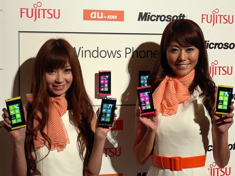 WindowsPhone7.5 IS12T